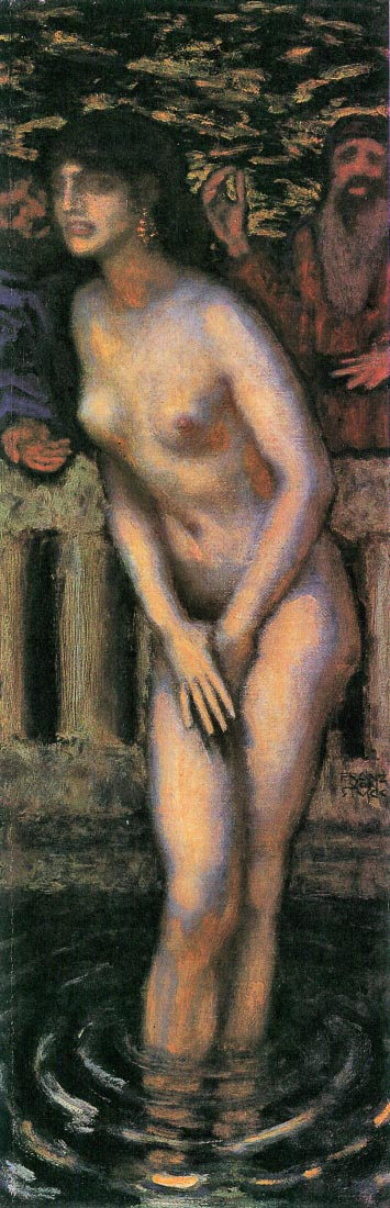 Susanna in the bath [2] - Franz von Stuck